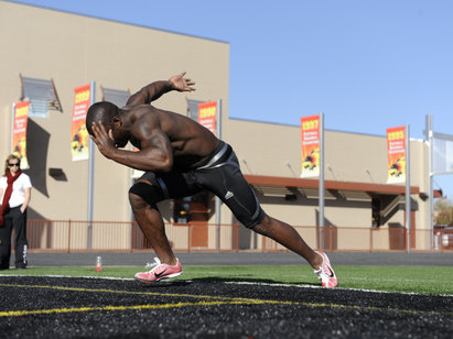 Q & A: Faster 40-Yard Dash Time