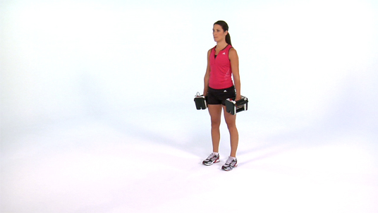 Forward Lunge - Dumbbell