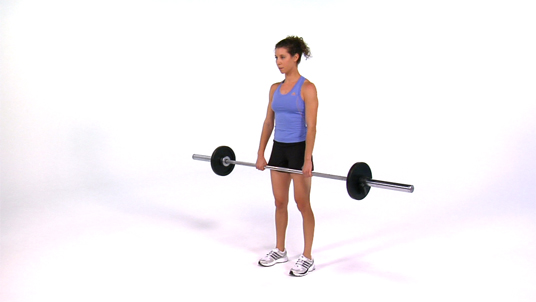 Hang Clean to Front Squat - Barbell