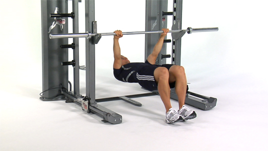 Inverted Row - Bent Knees