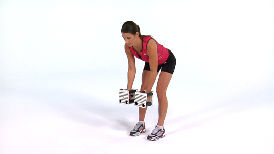 Lateral Shoulder Raise - Bent Over Dumbbell