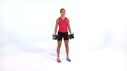 Lateral Shoulder Raise - Dumbbell