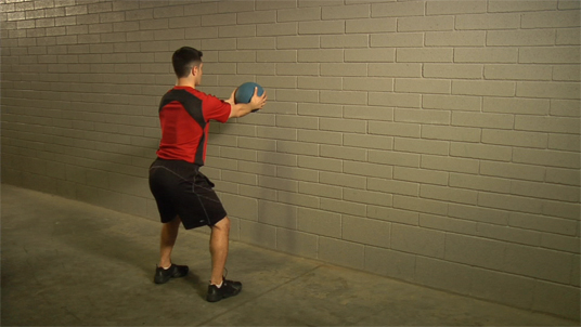 Medicine Ball - Chest Pass