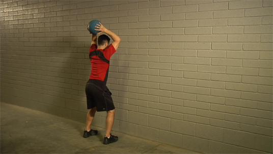 Medicine Ball - Overhead Throw