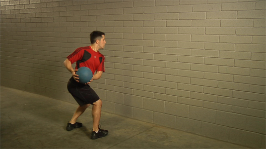 Medicine Ball - Parallel Throw - Standing