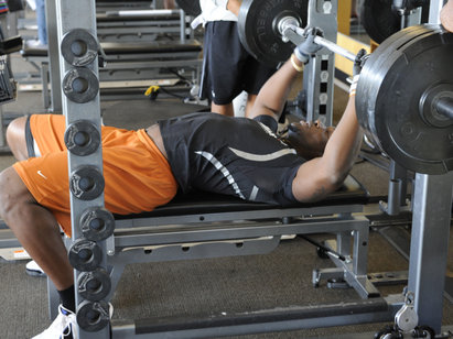 NFL Combine Secret # 1 - Boost Your Bench Press