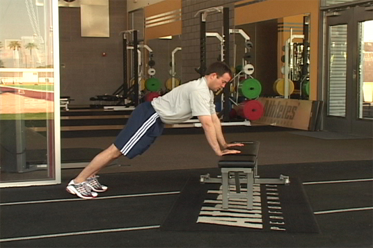 Push-up - Plyometric Bench