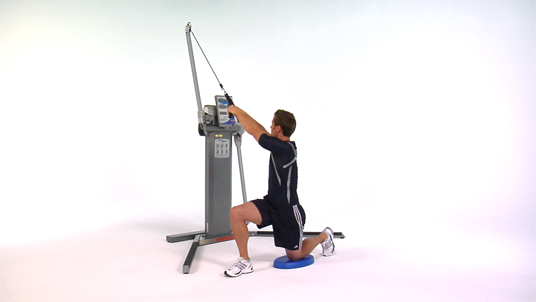 Rotational Chop - Lateral Half Kneeling Cable