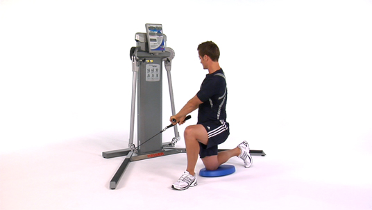 Rotational Lift - Lateral Half Kneeling Cable
