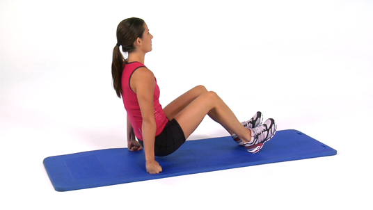 Shoulder Depression - Seated (Reps)