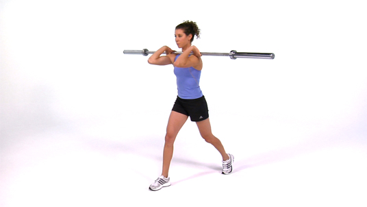 Split Squat - Front Barbell