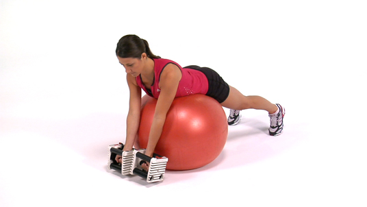Ts - Dumbbells (Stability Ball)