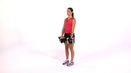 Upright Row - Dumbbell