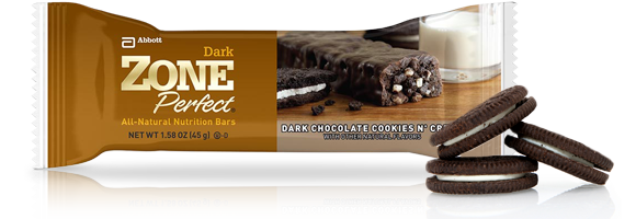 Dark Chocolate Cookies &amp; Creme Bar